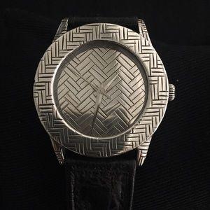 John Hardy Jewelry - John Hardy Sterling Silver Woven Bedeg Watch