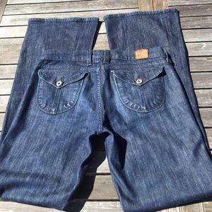 Lucky Brand Zoe Flap Button Pocket Jeans 6 28