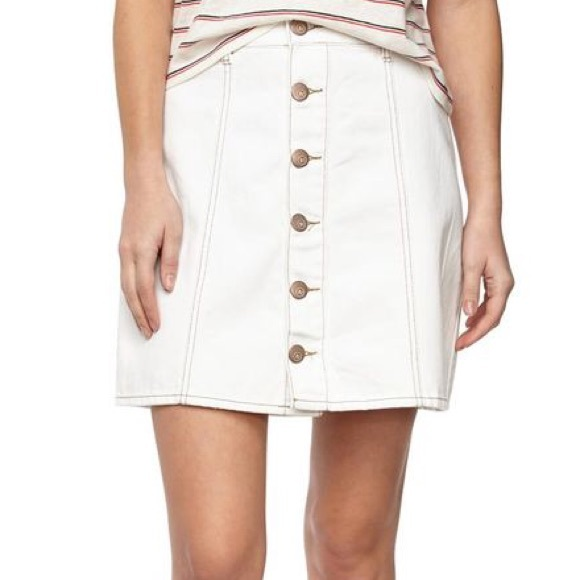 59% off Cotton On Dresses & Skirts - Cotton On • White A-Line ...