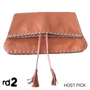 Randell Dodge RD2 Hand Stitched LEATHER Clutch