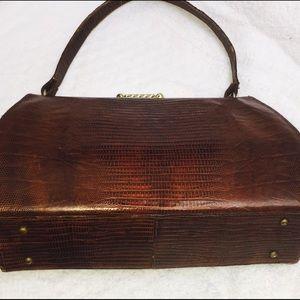 Handbags - Vintage 🎉REDUCED🎉🎉Vintage Alligator Handbag