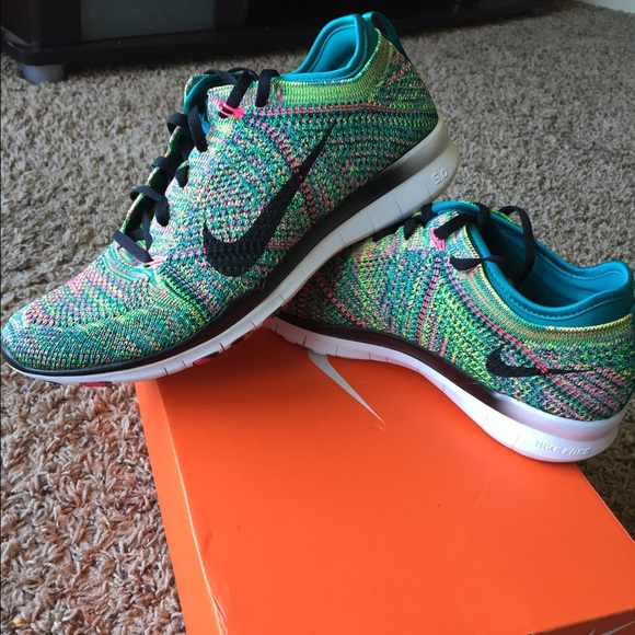 Womens Nike Free 5.0 Tr Flyknit Training Shoes