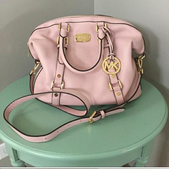 💜Blossom Bedford Bowling Satchel Handbag Blush 😆.  M 56021a17a88e7d5d6d006455 3ecf94f56c1b6