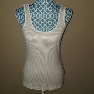 Express Sequin Tank Top in size Small