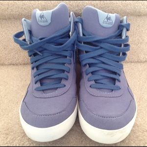 "Le Coq Sportif Shoes - Violet ""Le Coq Sportif"" High Tops"