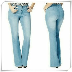 JustFab Denim - 👖🍀 JustFab High waisted vintage flare jeans.