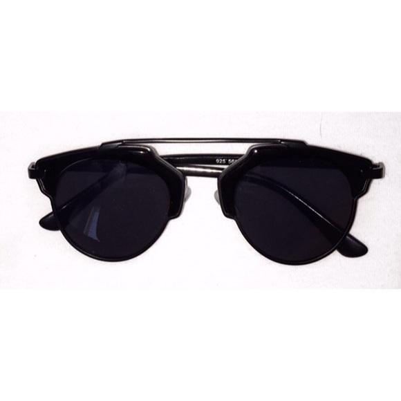 Dior Una Gafas De Sol Tan Real - Dior Negro 2vjEuX2Kw