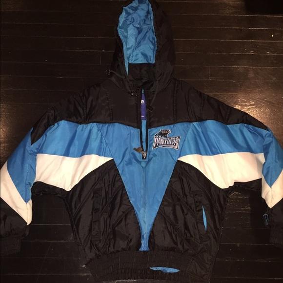 a96ee64c1 Vintage Carolina Panthers pro player jacket. M 560204902de512c39b00a0a1