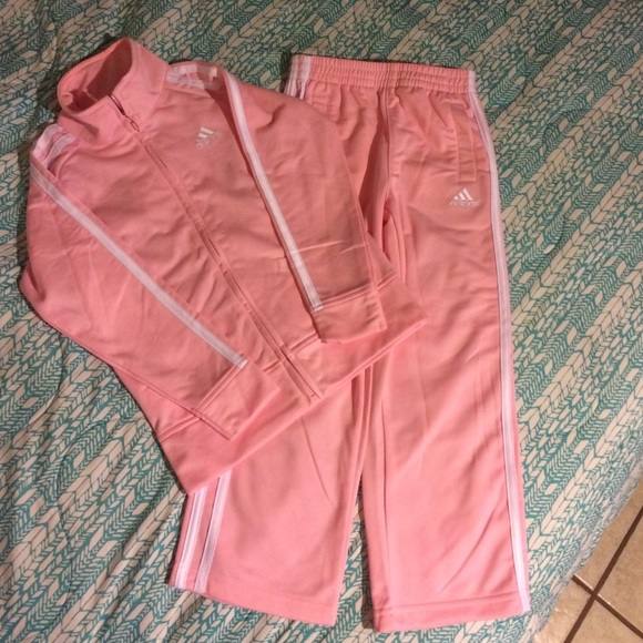 f4a908ed0a1286 Adidas Other | Like New Toddler Girls Track Suit | Poshmark