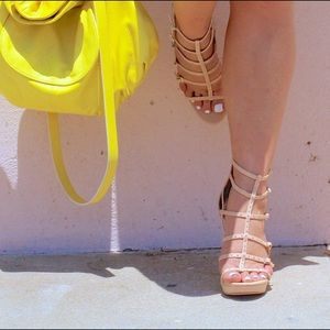 Vince Camuto Shoes - Vince Camuto Heeled Gladiator Sandals!
