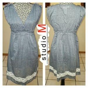 Studio M Dresses & Skirts - STUDIO M Summer GrAy dress
