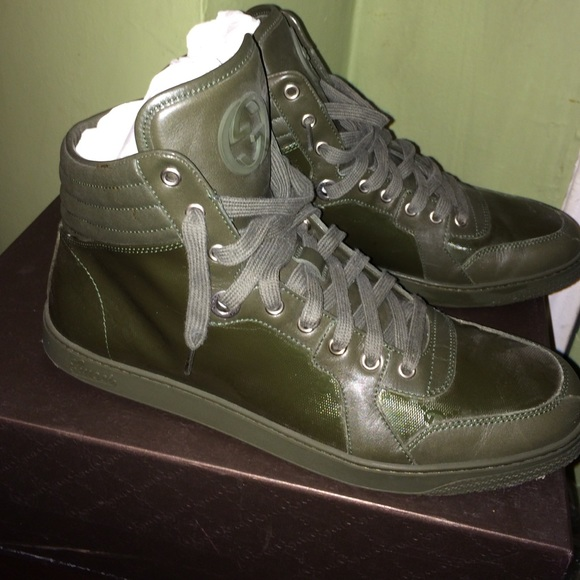 8ab30bc0676 Gucci Other - Used! High top sneakers for men !
