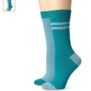Lucky Brand Accessories - New Lucky Brand Bootsock Crew Socks - 2 Pairs