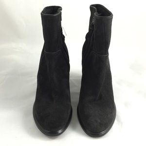 NWOB rag and bone Grayson Suede Booties Asphalt 36