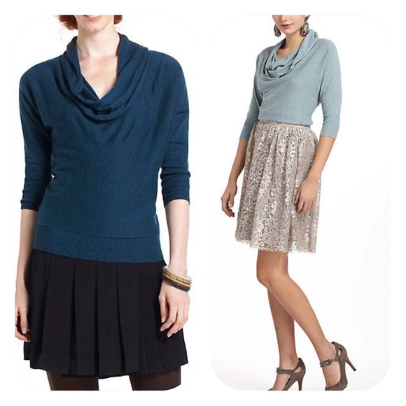 82% off Anthropologie Sweaters - Anthropologie Cowlneck Sweater by ...