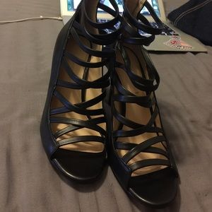 Banana Republic caged heels