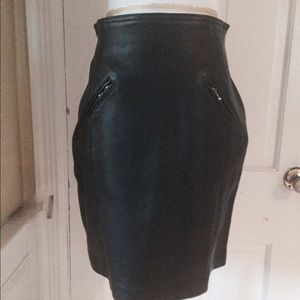 PRICE DROP Bagatelle Leather skirt