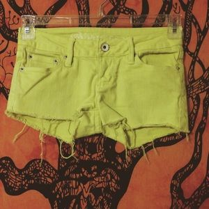 Bullhead Pants - LAST CHANCE Pacsun Hermosa Super Skinny Shorts.