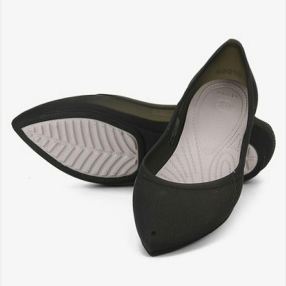 65d3170fb0b9 Crocs Rio Flats in black grey Size 9. M 56150320feba1fc9640291f9