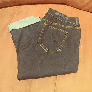 Capri jeans denim