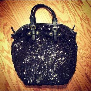 Handbags - Black sequin handbag