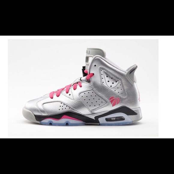 official photos 50fa8 14d36 Air Jordan Retro 6 'Valentines Day' Gs Youth