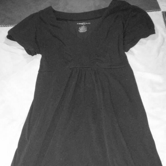 c8752dbb48716 Liz Lange Dresses | Pretty Black Maternity Dress | Poshmark
