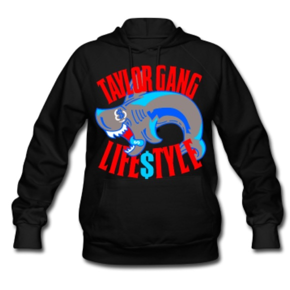 ee163afb397e4 💰Wiz Khalifa Taylor Gang Lifestyle Shark Hoodie💰.  M 5602d0874225be1300000f46