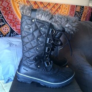 SOREL Shoes - Sorel Tofino Black Snow Boots