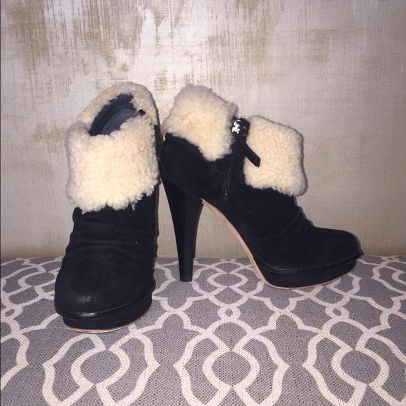 9c865d0324d UGG Georgette Suede Ankle Booties