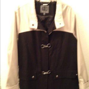 QUEEN COLLECTION (Latifah) 3/4 length fall coat