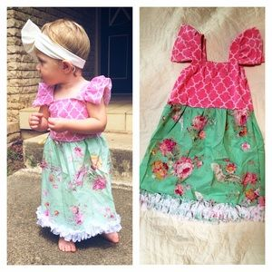 Other - Floral lace toddler dress sizes 9 month to 4T