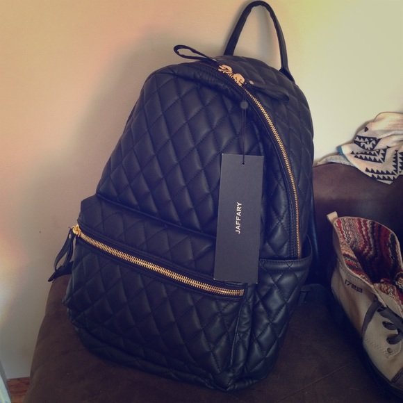 Jaffary - Quilted leather backpack from Tiffany's closet on Poshmark : leather quilted backpack - Adamdwight.com