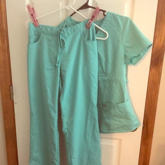 Greys Anatomy Pants Greys Anatomy Scrub In Splash Xs Poshmark