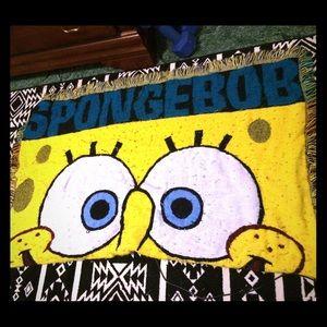 SpongeBob Squarepants Other - SpongeBob throw blanket
