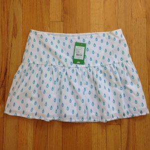 SOLD Lily Pulitzer NWT white eyelet skirt size 4