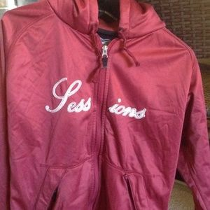 Sessions womens soft shell hoody