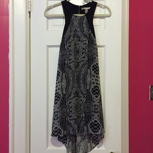 Forever 21 high-low dress with open back!