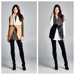 Jackets & Blazers - Faux suede vest