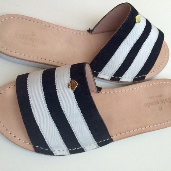 6d2a49e64384 Kate Spade New York Imperial Striped Sandal Size 7