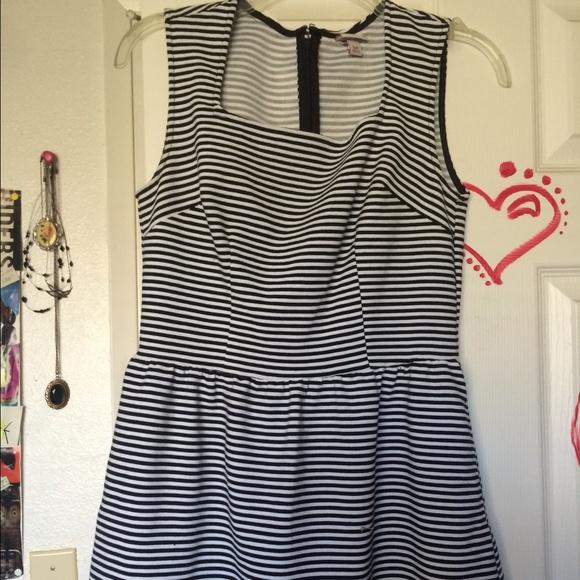 47 Off Merona Dresses Amp Skirts Striped Cotton Dress From Stacy S Closet On Poshmark