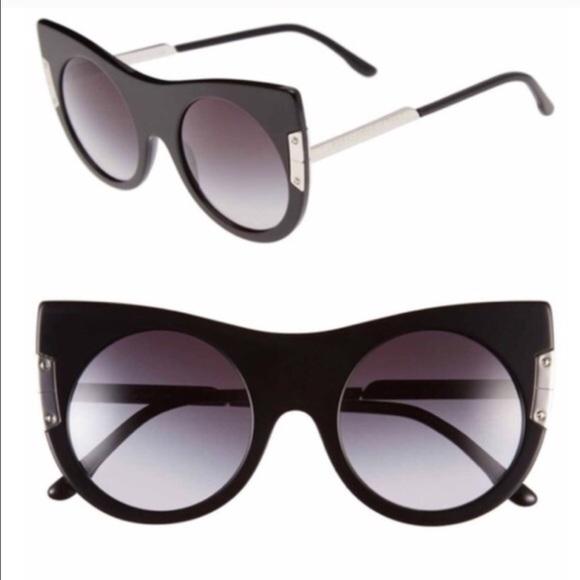 32ea57684fb •LE Stella McCartney round cat-eye sunglasses•