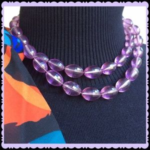 Jewelry - VINTAGE FACETED BEAD NECKLACE