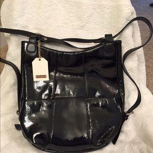 Ellington Handbags - NWT Ellington Backpack Black patent leather