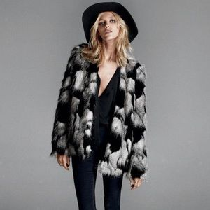 Ombré Faux Fur Jacket *NEW*