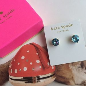 Kate Spade gumdrop earrings