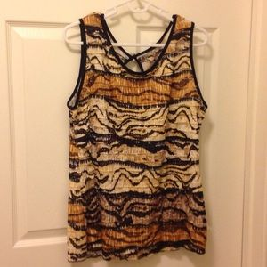 Tops - 🎀Blousy tank top with shimmer