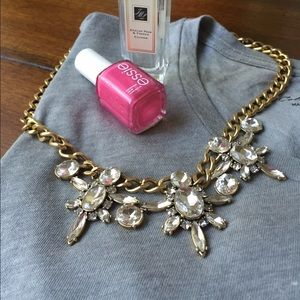 J crew statement necklace