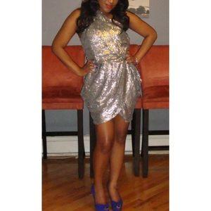 ASOS Dresses & Skirts - Glamorous | Sequin One Shoulder Dress from ASOS