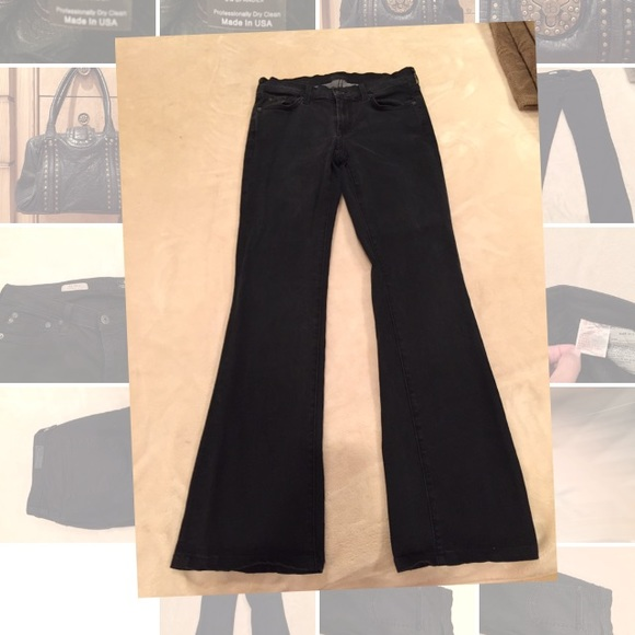 70% off Seven7 Denim - Seven black jeans from Kathy's closet on